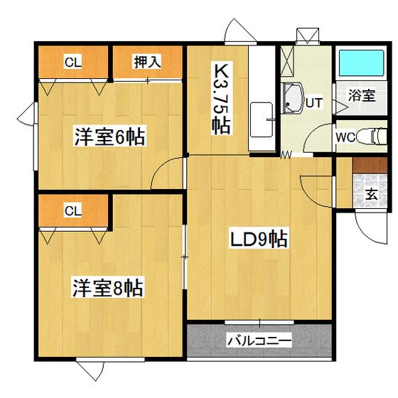 ソワールA 201号室