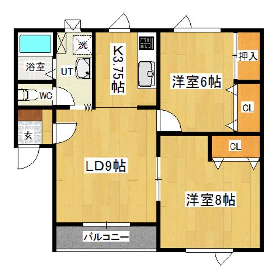 ソワールK 202号室