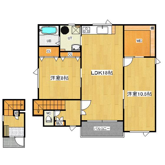 藤井貸室(東三輪) 2F号室