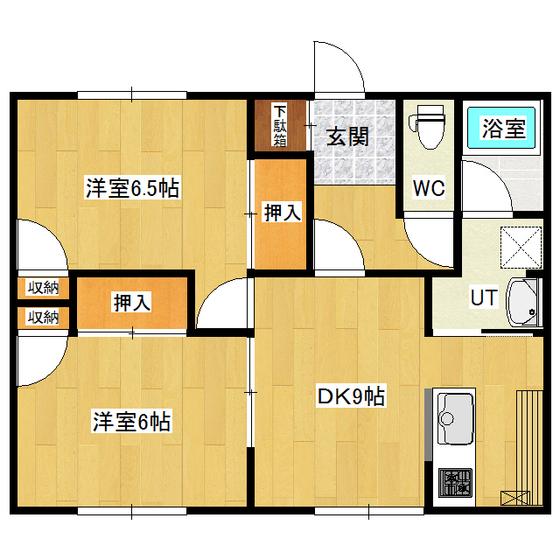 羽生ハイツ 2号室