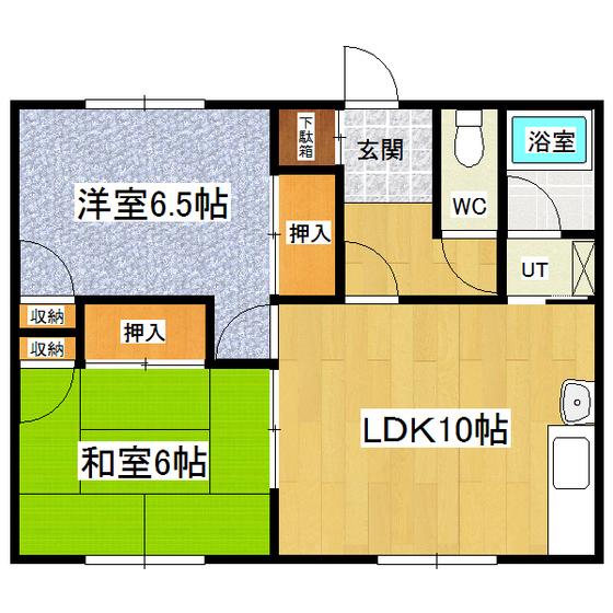 羽生ハイツ 6号室