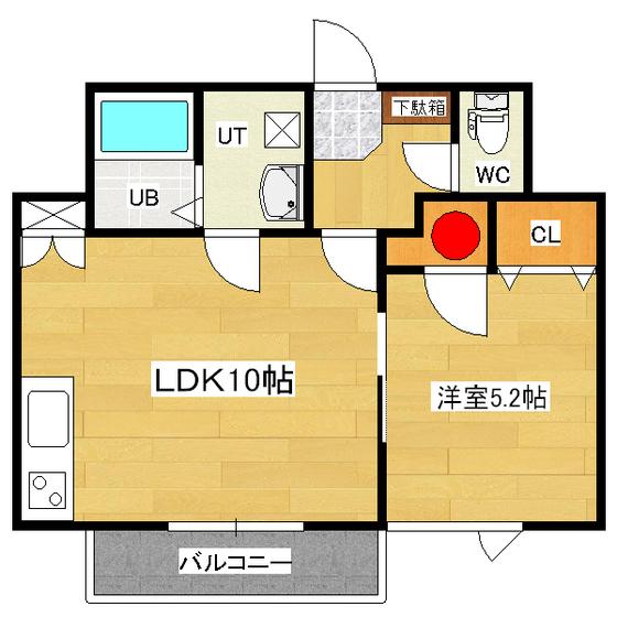 プレミアコートとん田 3-B号室