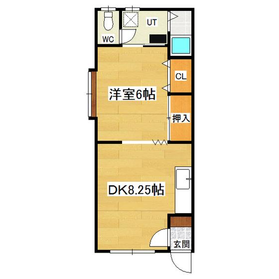 コーポたかは志北3 201号室