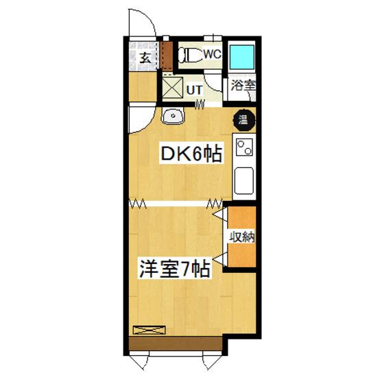 エヴァグリーン 205号室