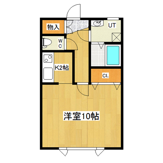 エクセルハイツ 105号室
