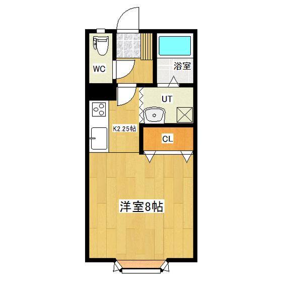 コーポ久美 102号室