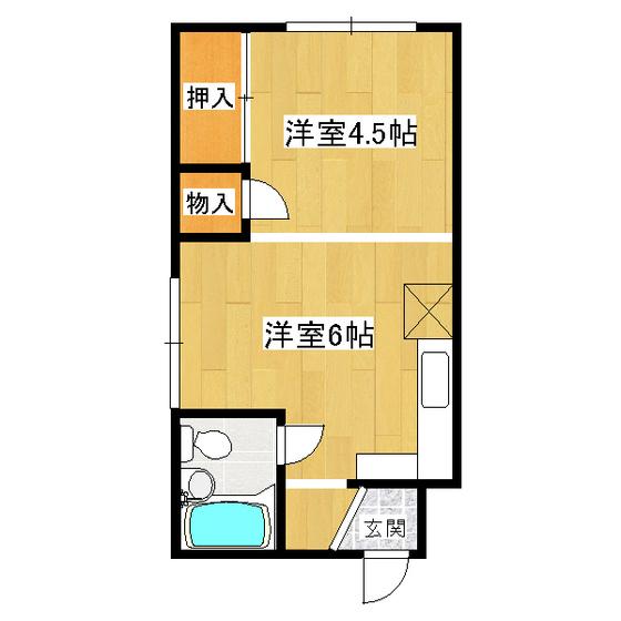 セブンコーポ 106号室