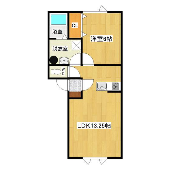 グリーンハイム稲美 102号室