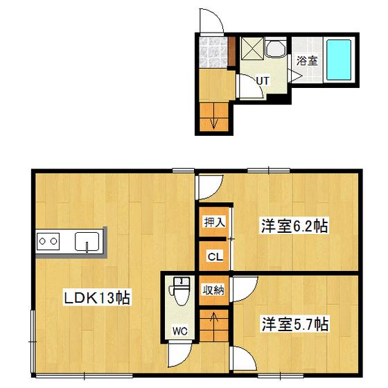さくらんぼハウスA棟 2号室