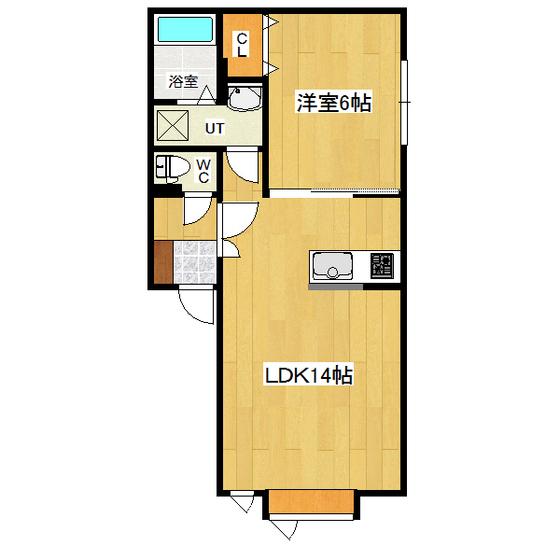 プラティーク 205号室