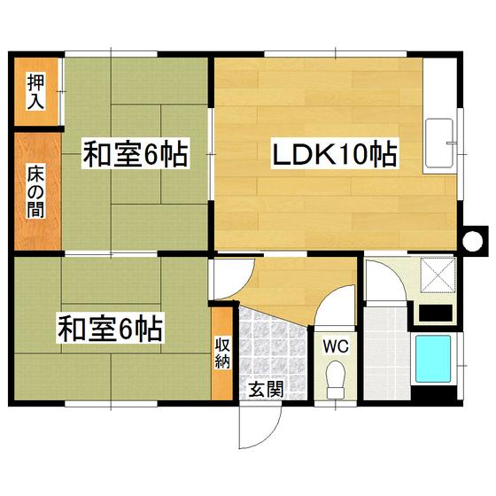 美芳23番地10貸室 1号室