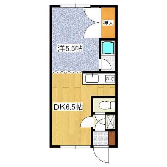 コーポ中村 1-6号室
