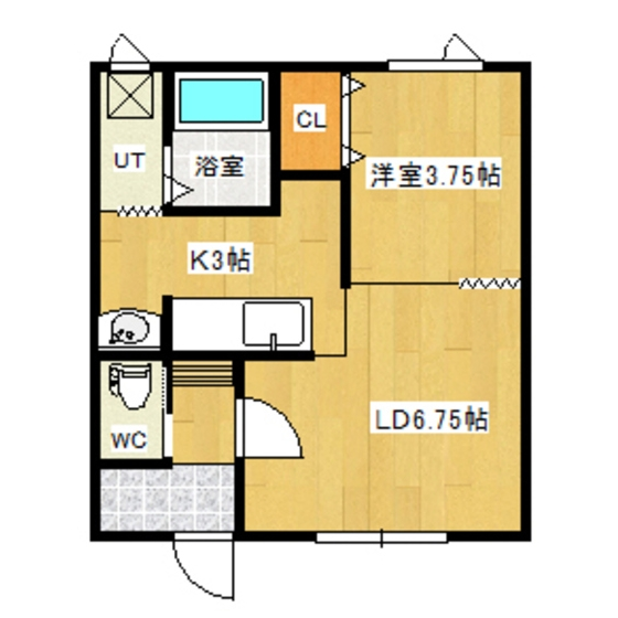 サンワハイツA 202号室