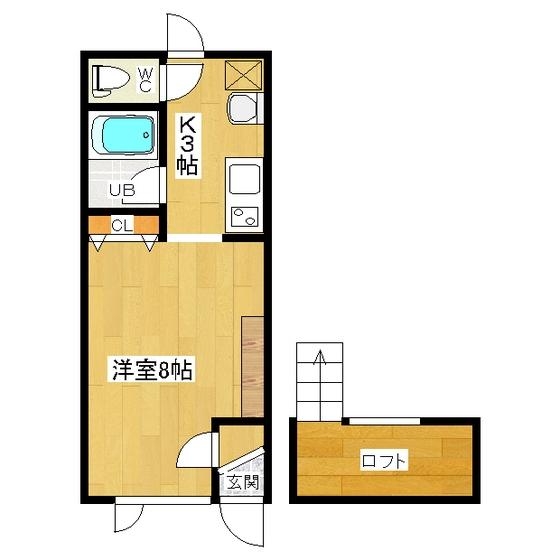 メゾンド純I 203号室