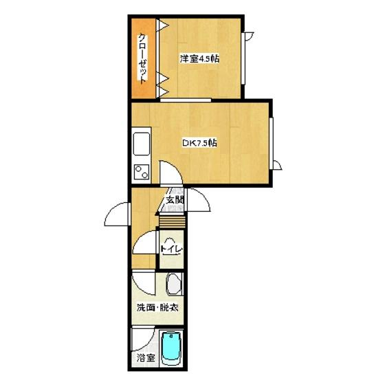 ミントハウス寿II 203号室