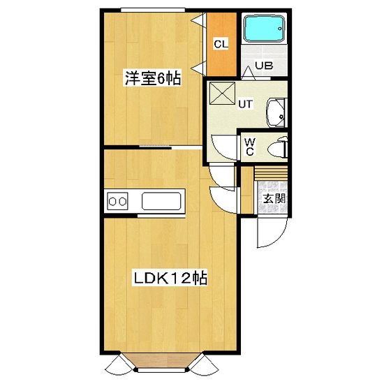 花林ハイツV 203号室