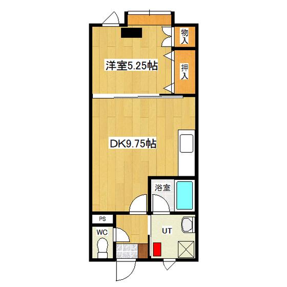 ムーンボックス 2号室