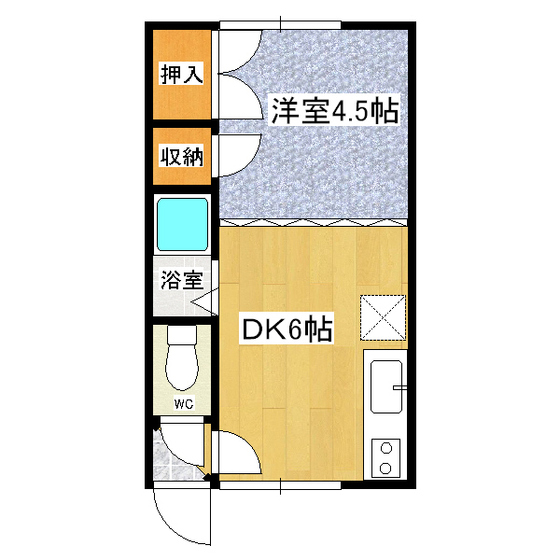 イーティングハウス 102号室