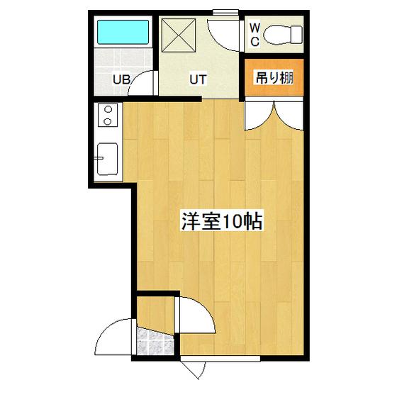 サンコートハイツB 202号室