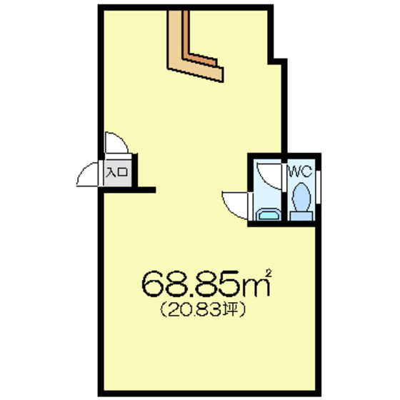 中島ハウス 1F号室