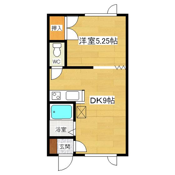 モアクレスト 106号室