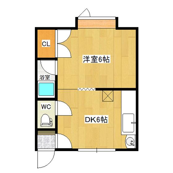 ホークハイツI 2-2号室