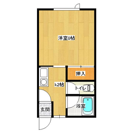 イナダマンション 1-A号室