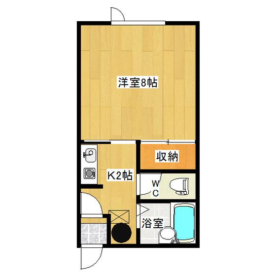 イナダマンション 1-E号室