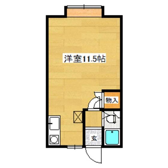 HANAハウス 203号室 間取り図