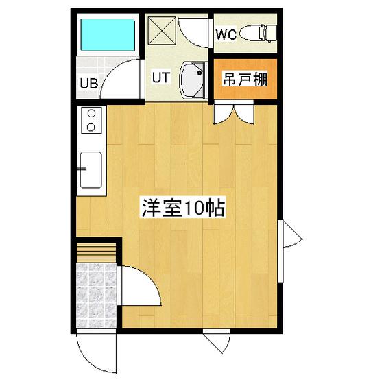 サンクレストハイツA 205号室