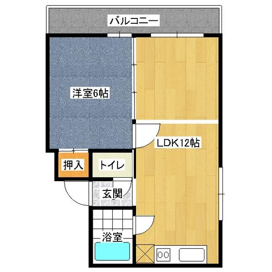 5.5ハイツ(竹口マンション) 302号室