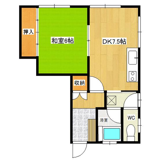 タケミハイツ 1F1号室
