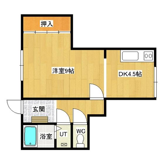 タケミハイツ 1F2号室