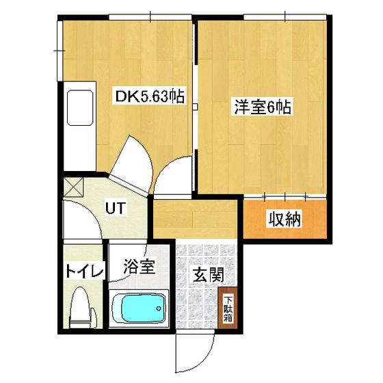 タケミハイツ 1F3号室