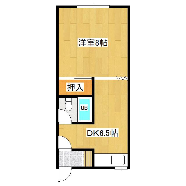 竹下ハイツ 107号室