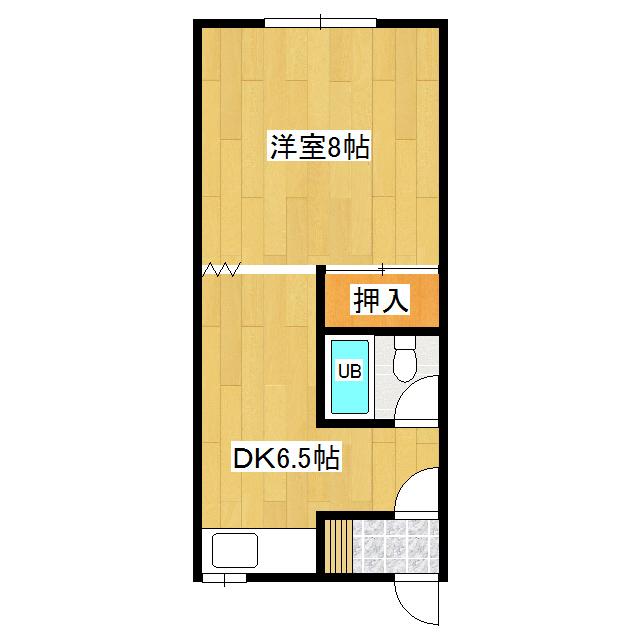 竹下ハイツ 206号室