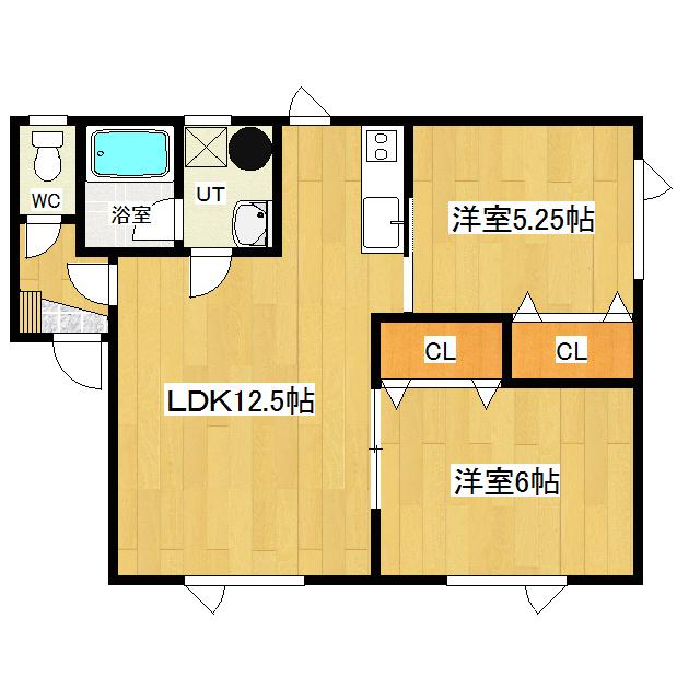 ミントハウス寿I 105号室