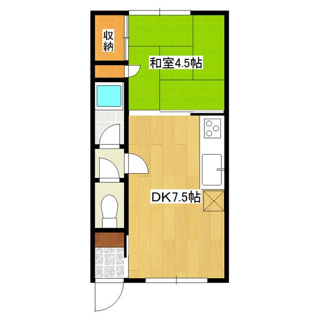 南仲町1号ハイツ 105号室