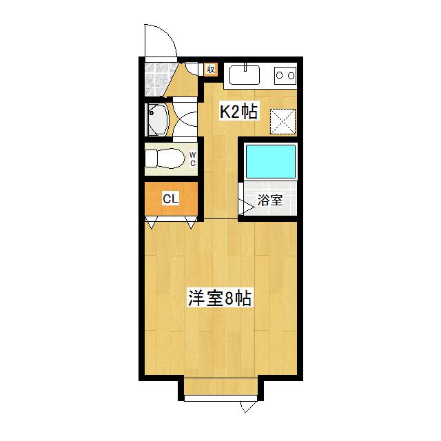 ノールモンテ 102号室
