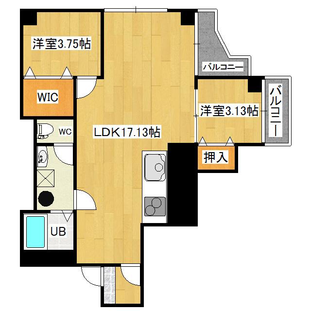 藤グリーンマンション 1-2号室
