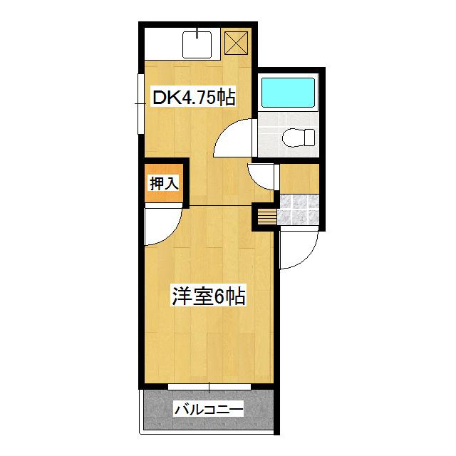 メゾン美芳 1号室