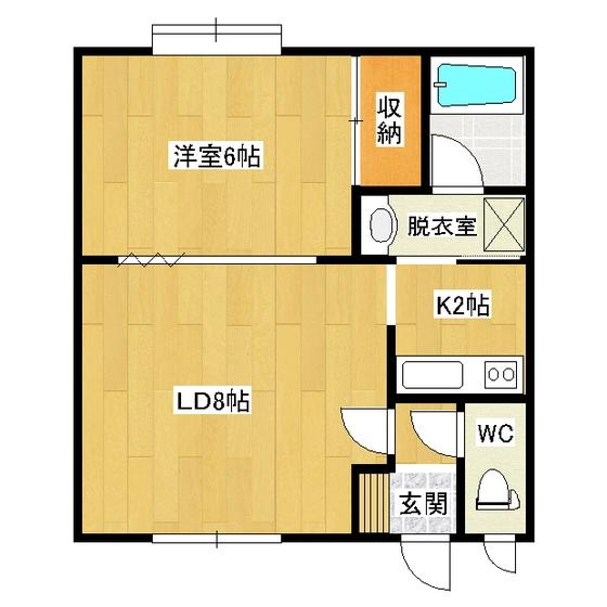 パークサイド高砂 102号室