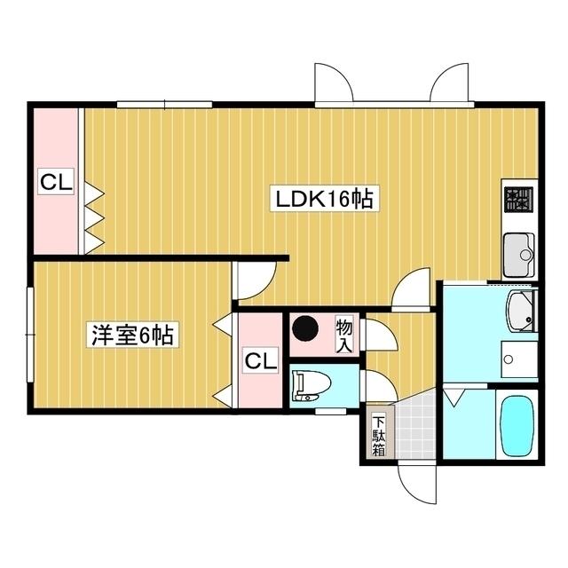 黒田マンション 205号室