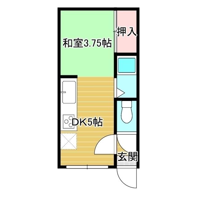コーポ緑ヶ丘 202号室