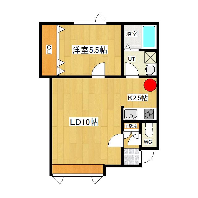 バン・ベール 102号室