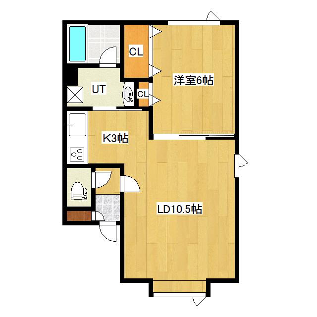 ヴィクトリア 102号室