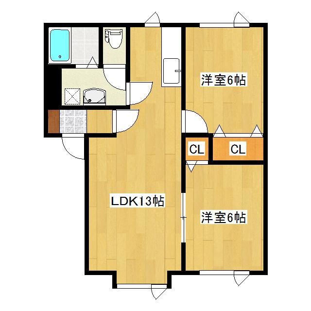 ハイツビリーブ 105号室