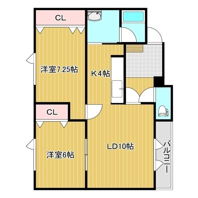 ウエストハウス 2-3号室