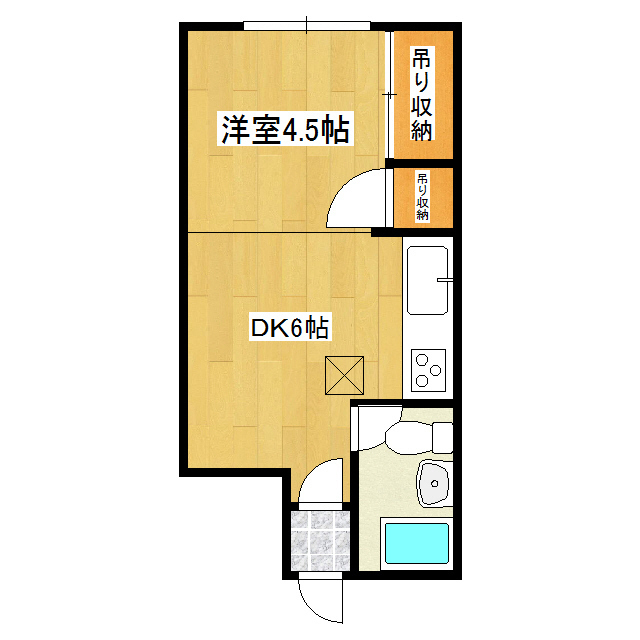 セブンコーポ 005号室