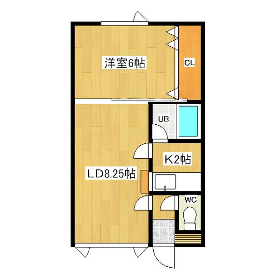メイプルハウスA 11号室